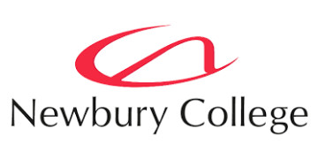 Newbury College's logo takes you to their list of jobs