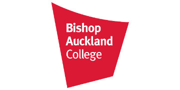 Bishop Auckland College's logo takes you to their list of jobs