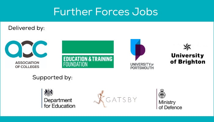 Further Forces Jobs - Teaching jobs for MOD Personnel