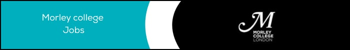 Morley College Jobs Banner