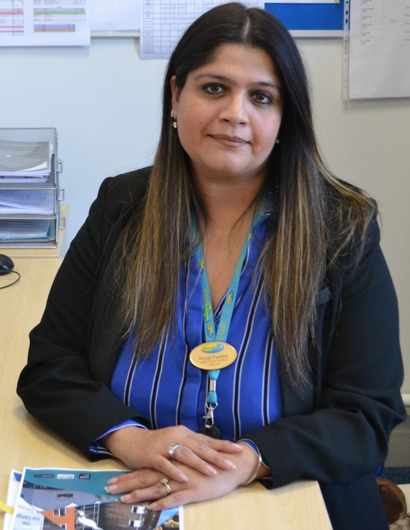 Pooja Furniss, Director of People and Organisational Development