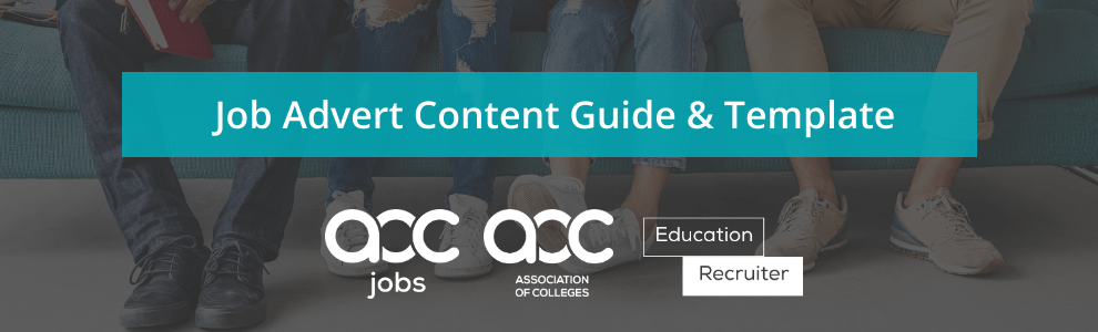 AoC Job Advert and Content Guide